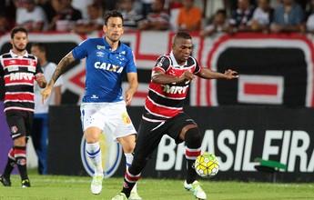 Santa Cruz goleia Cruzeiro com dois de Grafite e é líder isolado da Série A