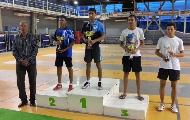 Mesatenistas do AP conquistam medalhas em competição internacional (Foto: Arquivo Pessoal/Alan Cardoso )