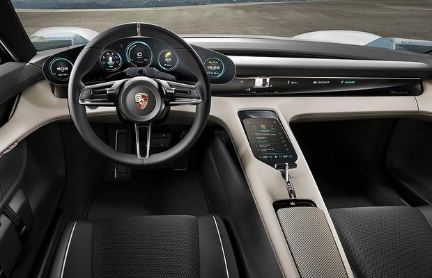 Conceito Porsche Mission E (Foto: Divulgação)