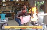 Bombeiro mostra o que fazer quando a panela pega fogo