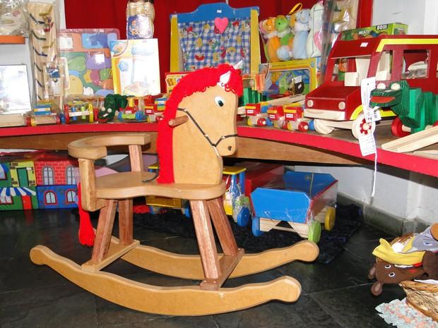 Balanço de cavalo de pau (Foto: Alex Araújo/G1)