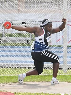 Cubana Yarelis Barrios compete no GP de Atletismo de Belém  (Foto: Ismar Ingber/CBAt)