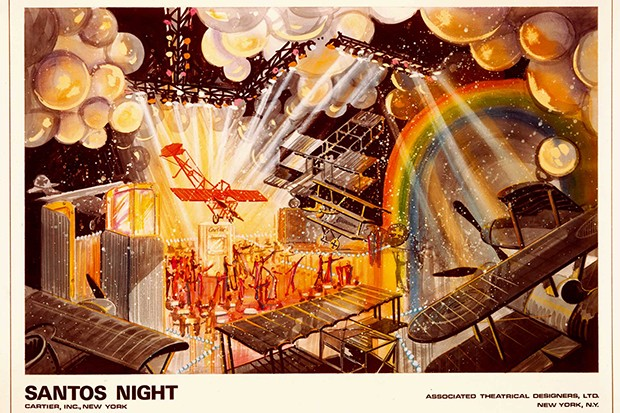Santos Night party invitation, 1979 (Foto: CARTIER NEW YORK ARCHIVES © CARTIER)