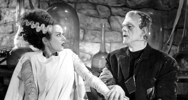 A Noiva de Frankenstein faz parte do universo de terror da Universal, ao lado de criaturas como o Drácula e Lobisomem (Foto: Divulgação)