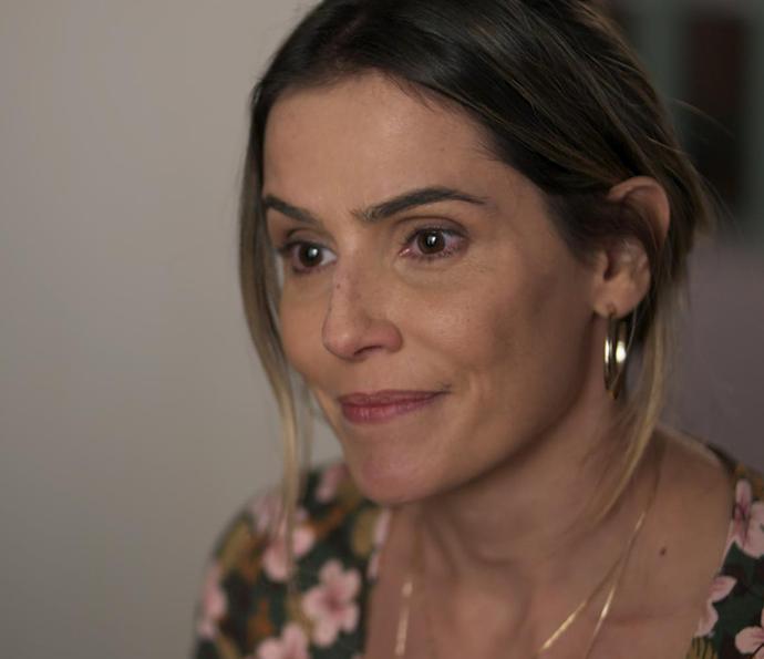 Tânia fica emocionada!  (Foto: Tv Globo)