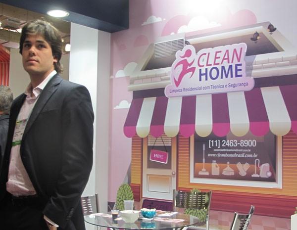 Grupo especializado em limpeza comercial resolveu apostar na doméstica com a Clean Home. (Foto: Simone Cunha/G1)