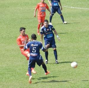 América e Guará pelo Campeonato Amador de Uberlândia (Foto: Caroline Aleixo)