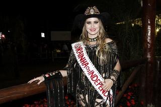 Patrícia Janota, rainha da Festa do Peão de Barretos 2016 (Foto: Celso Tavares/EGO)