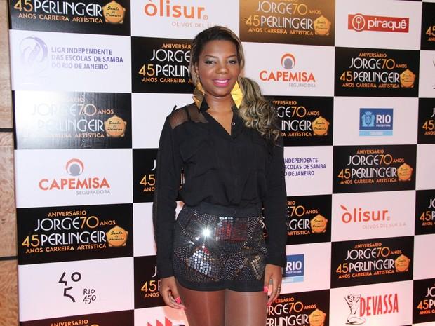 Mc Ludmilla em evento na Zona Oeste do Rio (Foto: Alex Palarea/ Ag. News)