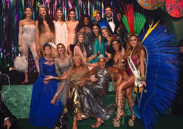 As musas do Baile da Vogue 2018 (Foto: Lu Prezia)