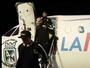 Adesivo polêmico em avião do Atlético Nacional esquenta duelo com Cerro