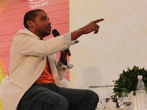 Jornalista baiano Fernando Conceição provocou acaloradas discussões (Foto: Ida Sandes/G1)