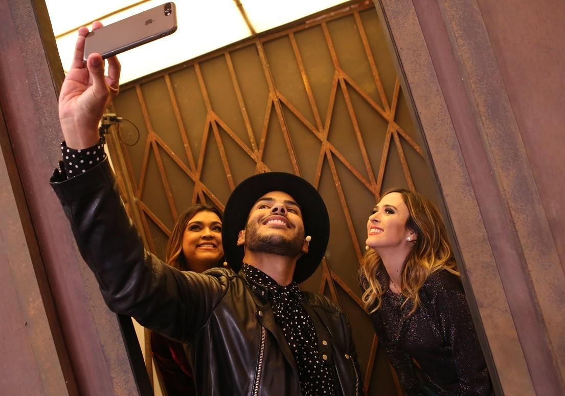 Preta Gil e Hugo Gloss so os convidados de Tat Werneck no Lady Night desta tera-feira (31) (Foto: Gianne Carvalho/Multishow)