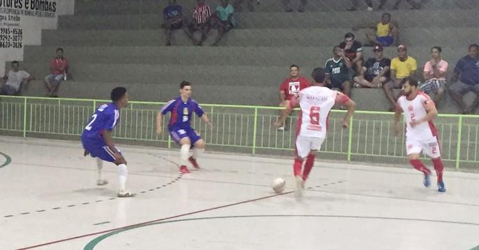 Condor e João Alfredo pelo Pernambucano de Futsal (Foto: Pollyane Felix)