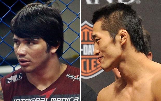 MMA Erick Silva e Dong Hyun Kim (Foto: Divulgação)