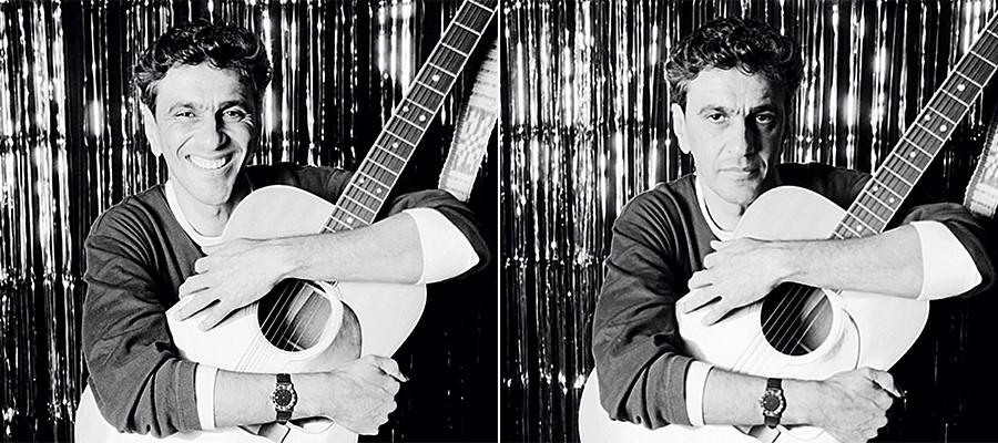 """IMAGINA SÓ """"Meme"""" de Caetano Veloso inspirado em Chico Buarque.  O escritório do cantor não endossou uma biografia sobre ele – e o livro não saiu. Os autores agora querem tirá-lo da gaveta (Foto: The LIFE Picture Collection/Getty Images )"""