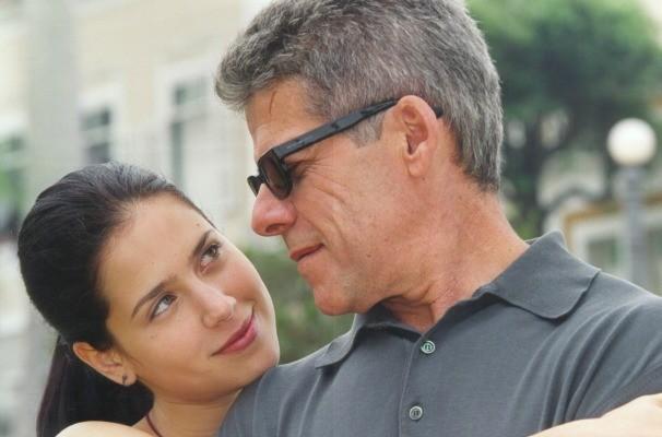 Anita (Mel Lisboa) e Fernando (José Mayer) (Foto: Divulgação)