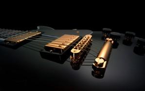 papel de parede guitarra
