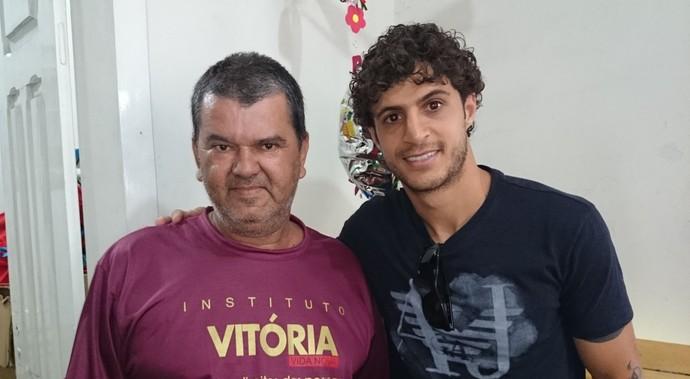 Antônio Instituto Vitória Hudson São Paulo (Foto: Bruno Ribeiro)