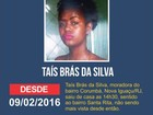 Jovem desaparece em Nova Iguaçu, RJ, na terça-feira de carnaval