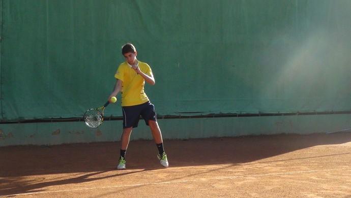 Roberto Cotrim, tenista Alagoas (Foto: Estéfane Padilha/ GloboEsporte.com)