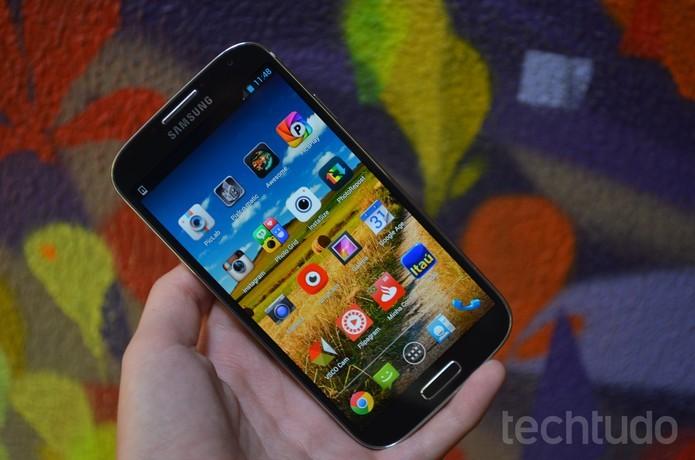 Sucessor do Galaxy S4 poderá ter com duas versões  (Foto: Luciana Maline/TechTudo)