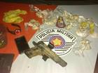 Três são detidos por suspeita de tráfico de drogas em Santa Isabel