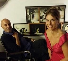 Maitê Proença com Hector Babenco (Foto: Reprodução / Instagram)