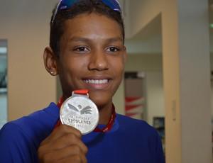 Breno Morais conqusitou a prata nas Olímpiadas Escolares deste ano (Foto: Felipe Martins/GLOBOESPORTE.COM)