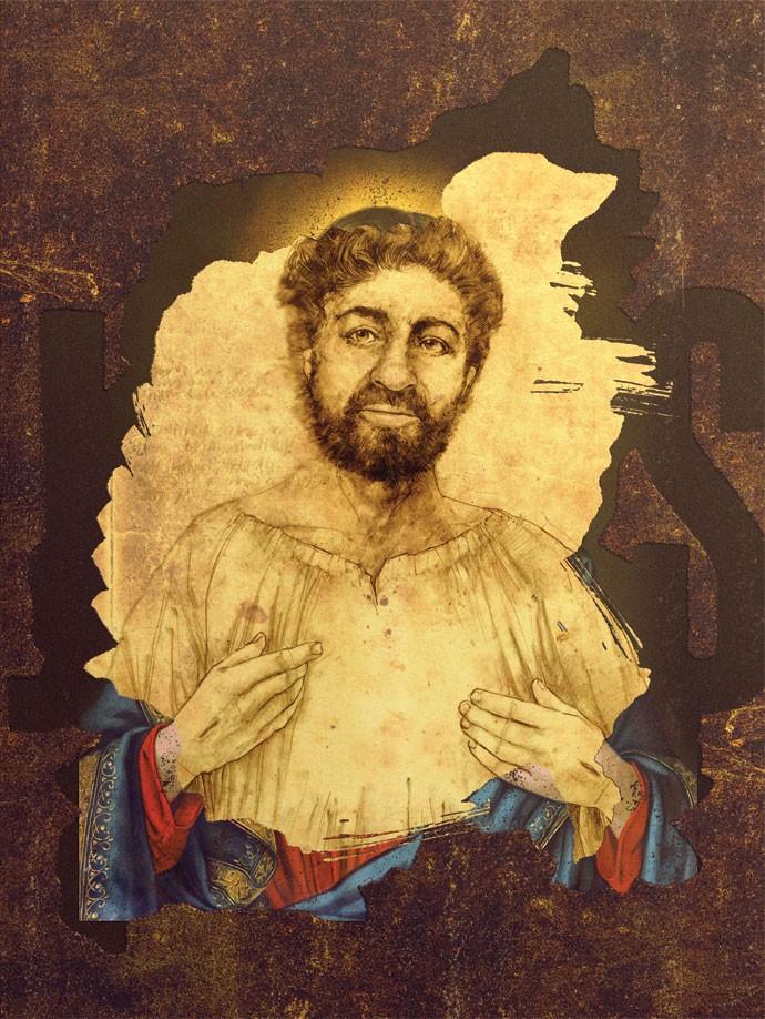 ...é mais provável que Jesus tenha sido moreno, de olhos castanhos e cabelo curto (Foto: André Toma/ Editora Globo)