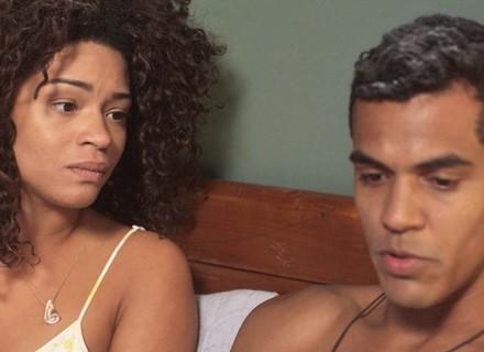 Tiago diz para Dora que não quer ter um filho