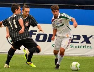 Kadu contra o Corinthians ainda atuando pelo Fluminense Futebol de 7 (Foto: Davi Pereira/Jornal F7)