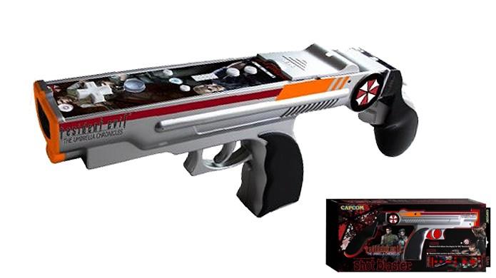 Espingarda Resident Evil Shot Blaster é um dos joysticks mais estilosos para o game (Foto: Reprodução/Amazon)