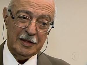 Adib Jatene é um dos pioneiros da cirurgia do coração no Brasil (Foto: Reprodução/TV Globo)
