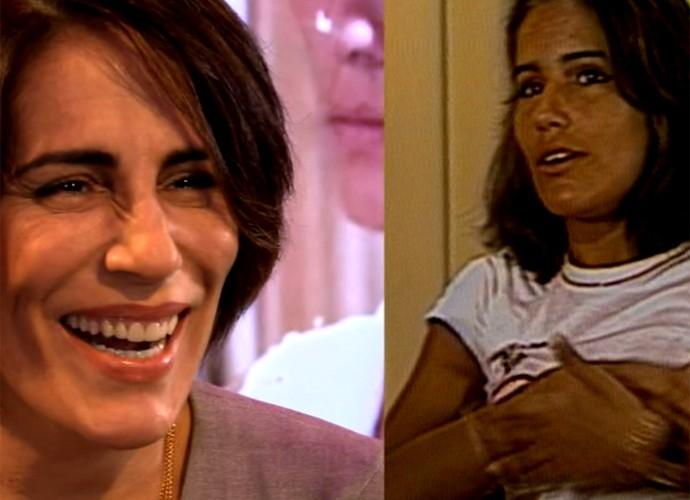 Antes e depois de Gloria Pires (Foto: Estrelas / TV Globo)