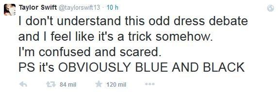 Taylor Swift faz post (Foto: Twitter/Reprodução)