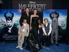 Família prestigia Angelina Jolie em pré-estreia de 'Malévola' nos Estados Unidos