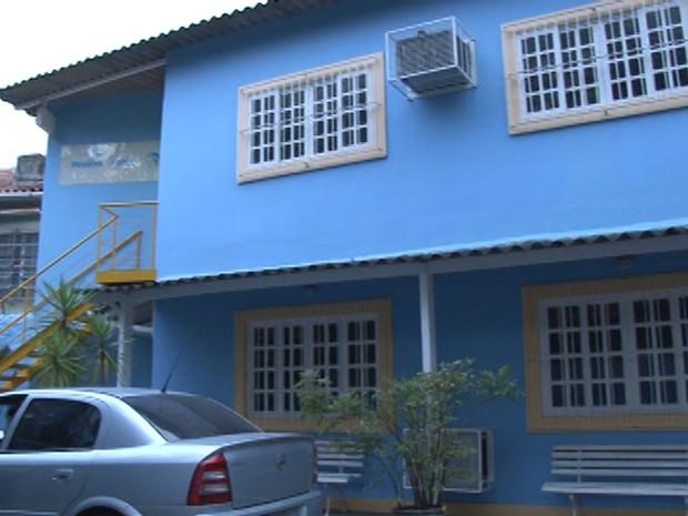 Casa que abrica a Sociedade Viva Cazuza no bairro de Laranjeiras, na Zona Sul do Rio de Janeiro. (Foto: Cristina Boeckel/G1)