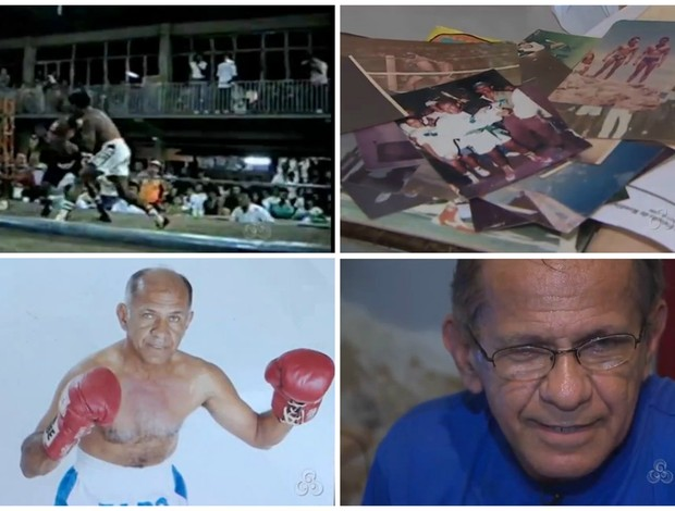 Killing, ex-lutador de boxe e exemplo de superação (Foto: Reprodução/Tv Rondônia)