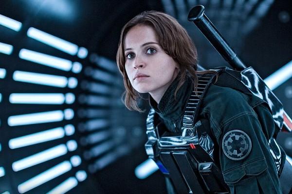 Felicity Jones em Rogue One (Foto: Divulgação)