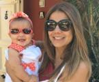 Nivea Stelmann com a filha, Bruna | Arquivo pessoal