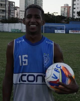 Feijão, atacante do Vitória-ES (Foto: Richard Pinheiro/GloboEsporte.com)