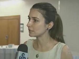 Rebecca Garcia (Foto: Reprodução/TV Amazonas)