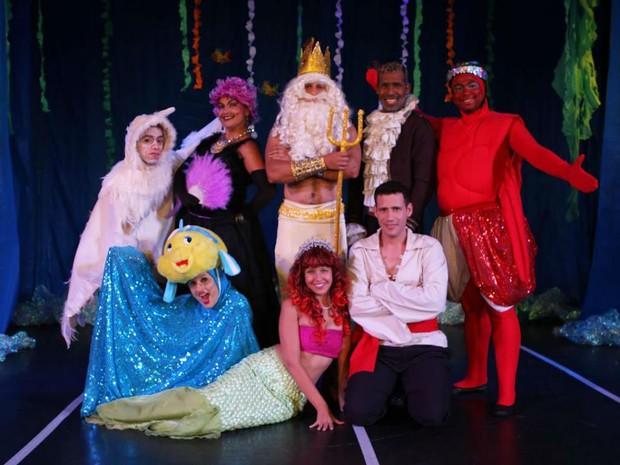 G1 - Espetáculo  A Pequena Sereia  tem duas sessões em Volta Redonda ... 277113ebd95f9