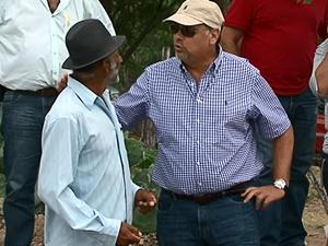 Organização da comunidade também é atrativo para o ministro Roa Burgos. (Foto: Reprodução/ TV Asa Branca)