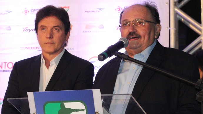José Vanildo Robinson Faria Prêmio Craque Potiguar (Foto: Fabiano de Oliveira)