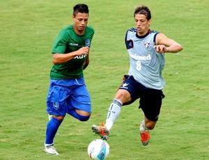Diguinho no jogo treino do Fluminense contra o Audax (Foto: Junior Lago / Photocamera)