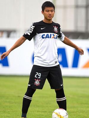 Zizao no treino do Corinthians (Foto: Daniel Augusto Jr. / Ag. Corinthians)