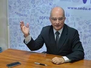 Secretário de Educação Haroldo Rocha (Foto: Divulgação/ Sedu-ES)