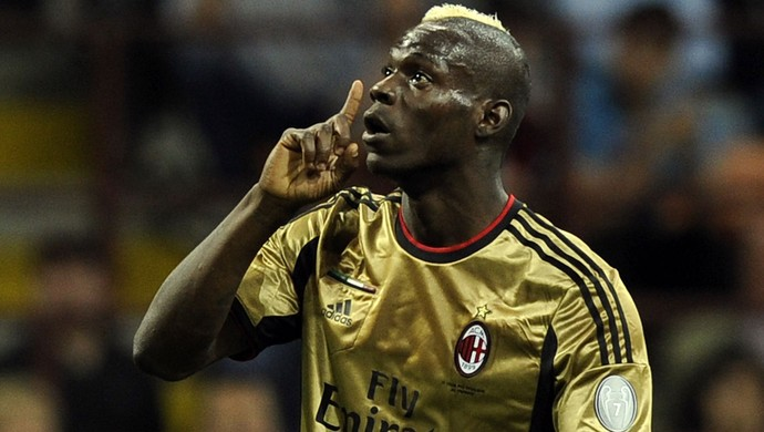 Balotelli, Milan x Roma (Foto: Getty Images)